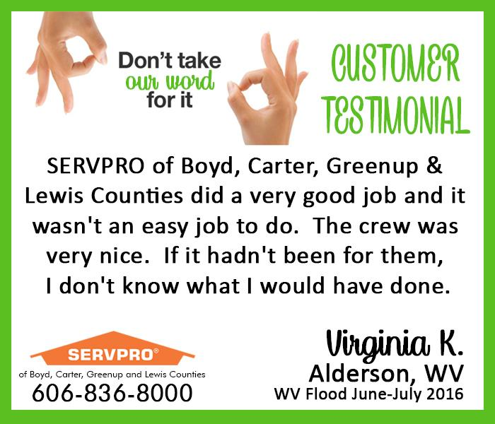 WV Customer Testimonial